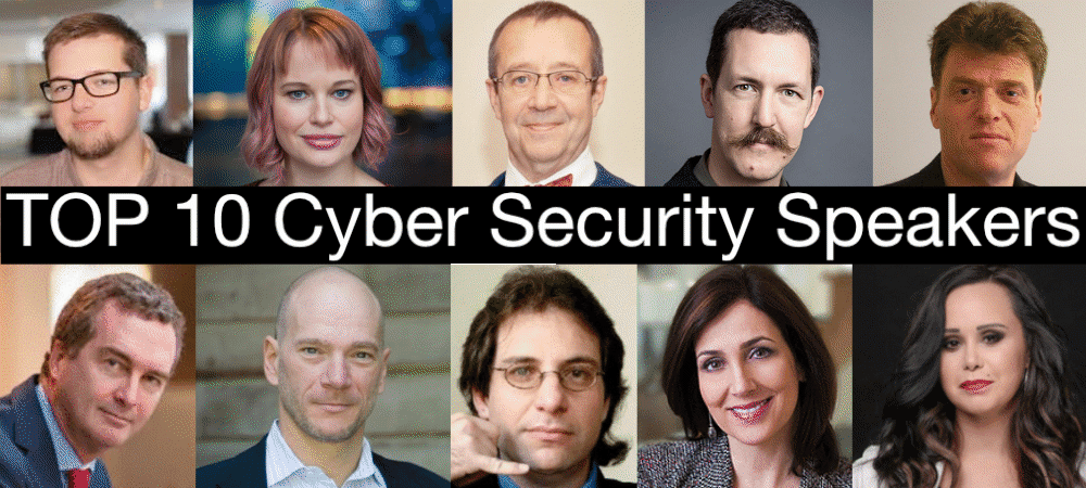 top 10 cyber security keynote speakers experts