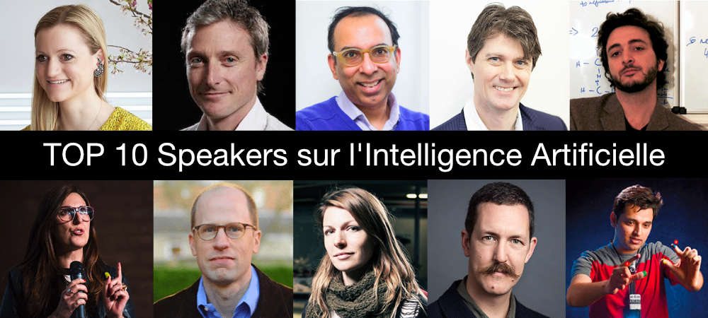 Meilleurs speaker Intelligence Artificielle