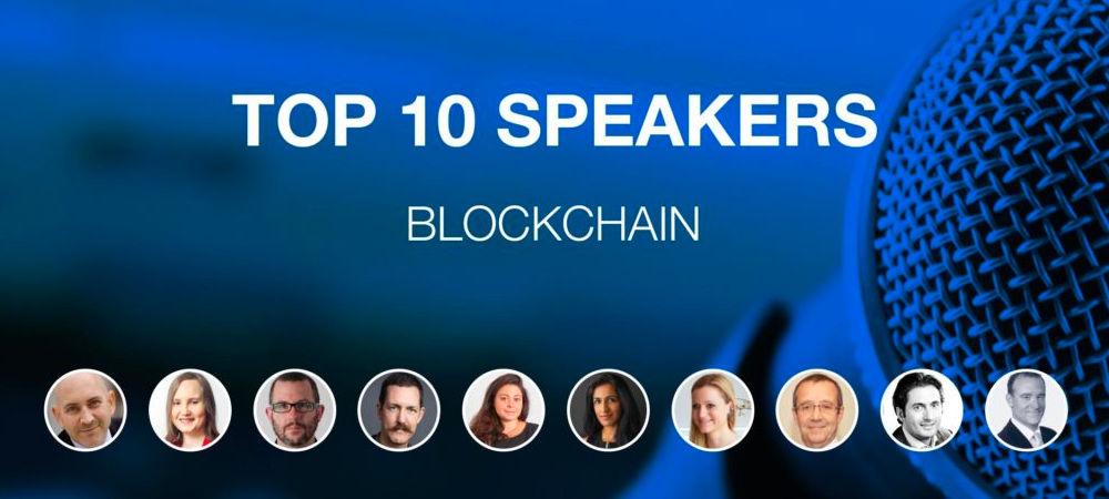 Top 10 conferenciers experts blockchain